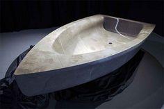 Bboat sculpture bathtub