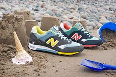 "Image of New Balance M577 Made in UK ""Seaside"" Pack #fashion #photo #shoes #apparel"