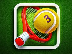 Hit Tennis 3 App Icon