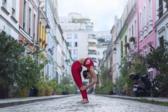 Dramatic Portraits of Dancers in The Streets by Dimitry Roulland