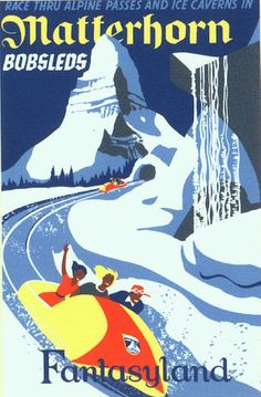 Kevitivity » Retro Disneyland Attraction posters as iPhone wallpaper #1960s #design #poster #disneyland