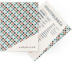 design work life » cataloging inspiration daily #ivory #red #cream #menu #retro #collateral #blue #light