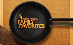 Family-Favorites-Santa-Monica-CityTV-cookery-show-logo-design-branding-identity-food-16 #creative #branding #process #cousine #food #logo