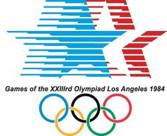 Logo Olympic Games – Los Angeles 1984