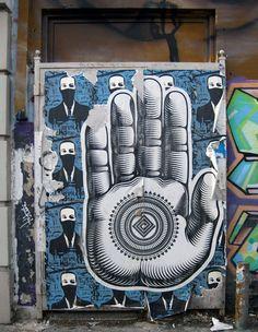 Free Humanity Revolution #hand