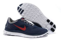 Nike Free 4.0 V2 Midnight University Red Charcoal White-Mens #shoes