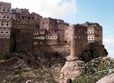 Dark Roasted Blend: The Most Alien Looking Place on Earth #yemen #al #architecture #hajarah #urbanism