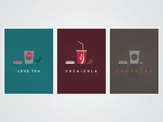 Refreshments Poster Collection (Personal) on Behance