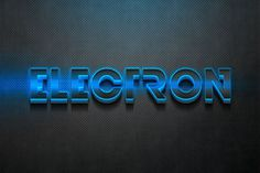 3D Electron Text Effect