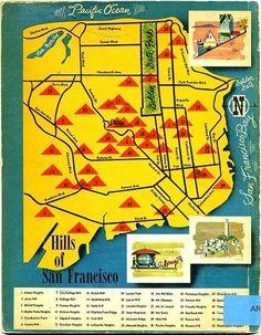 notions & potions #francisco #san #vintage #map