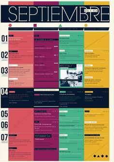 REVISTA DALE on Editorial Design Served #layout #colors #cronogram