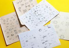 Logo process #vietnam #logotype #mark #branding #process #lens #bratus #geometric #identity #logo #sketch