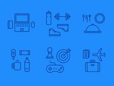Perks Illustrations #icon #picto #symbol #sign