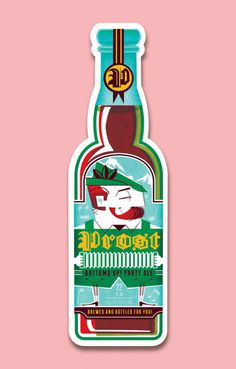Ilustraciones de Scotty Reifsnyder #beer #vector