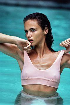 Fella swim campaign s17 - Cameron Hammond #women #swimwear #model #photography