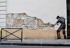 Humorous Site-Specific Street Art by Levalet