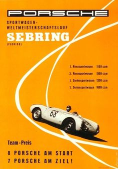 Vintage Porsche posters at iainclaridge.net