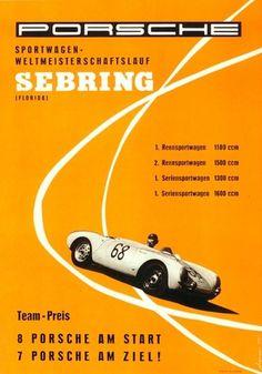 Vintage Porsche posters at iainclaridge.net #porsche #vintage #poster