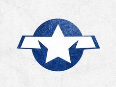 Dribbble - Red Tails by Astrit Malsija #icon #flag #american #star #blue