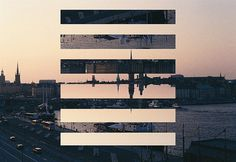 FFFFOUND! | Your Daily Fix #sunset #city #photography #collage