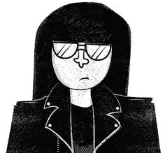 Ramone #music #illustration #ramones #punk