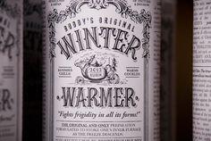 Winter Warmer - wine packaging
