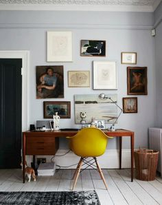 oh you know, just my dream Eames + Mid Century Modern workspace.