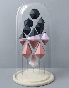 Geometric Paper Sculpture