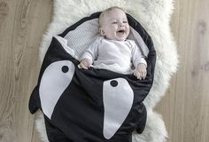 Orca Sleeping Bag by Baby Bites #tech #flow #gadget #gift #ideas #cool