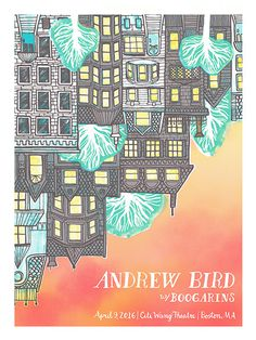 Andrew Bird - Gig Poster