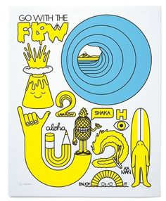FFFFOUND! #illustration #yellow #weird #poster