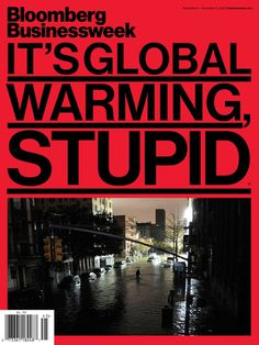 Bloomberg Businessweek Global Warming #type #layout #magazine #typography