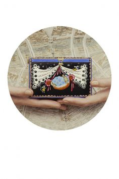 Ulyana Sergeenko HC S'13 look book #bag #illustration #chest #vintage