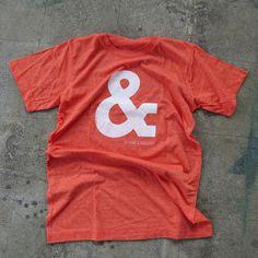 Studio & shirt #silkscreen #shirt #ampersand #studio #type