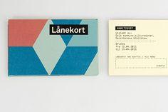 Deichmanske Library Identity #business #card #mikael #floysand #deichmanske #identity