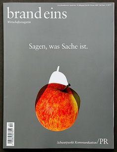 Spezial – Indexhibit: Martha Richter | Temp Magazin #cover #apple #interesting #cutout