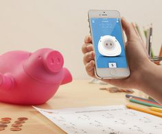 Porkfolio Smart Piggy Bank #gadget #home