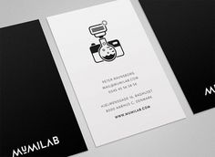 Mumilab - Visual Identity / Website on the Behance Network #lab #camera #logo #brandmark #photographer