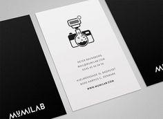 Mumilab - Visual Identity / Website on the Behance Network #lab #camera #logo #brandmark #photographer