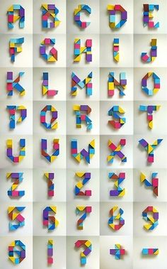 83 3D Typography Design Inspirations #typography