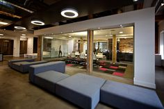 Teehan+Lax: modular couch/seating #office #architecture