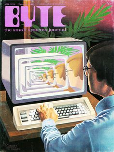 Byte Magazine #computer #illustration #1980s #byte #magazine