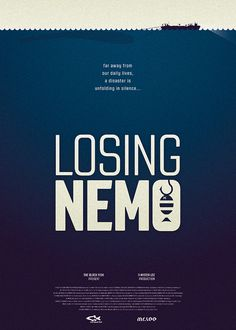 The Black Fish Losing Nemo Kamiel van Kessel #overfishing #animation #movie #van #design #graphic #oceans #kamiel #kessel #environmental #kamielvankesselcom #poster #theblackfishorg