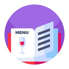 See more icon inspiration related to menu, food and restaurant, files and folders, menus, bar, paper, restaurant and food on Flaticon.