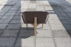 Chevalet by Thomas Merlin #minimalist #chair #furniture #minimal
