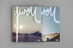 Dwell - Coastal Cities Revisited #layout #editorial #typography