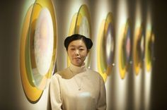 Exhibition for End of the world and artist Mariko Mori