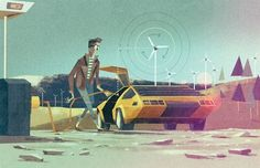 No More Grid Lock: How to Harness the Power of Renewable Energy - Technology - GOOD #illustration #eco