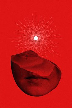 Onward | Flickr Photo Sharing! #red #portrait #collage #geometry #sun #face #sand dune