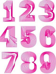 landflex1_555px.jpg (JPEG Image, 555×735 pixels) #lettering #design #graphic #numbers #type #typography